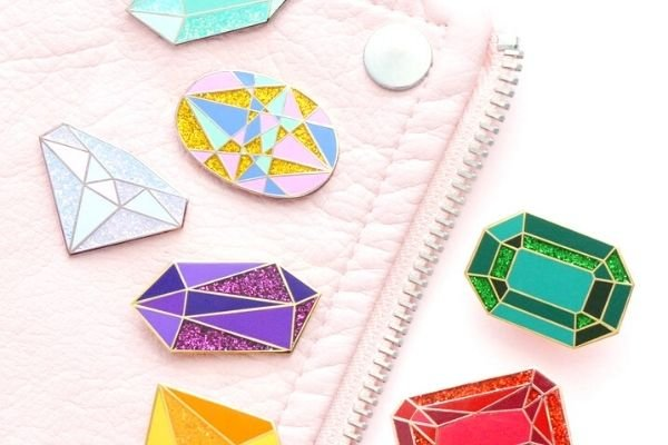 enamel pins, metal DIY craft to make and sell online