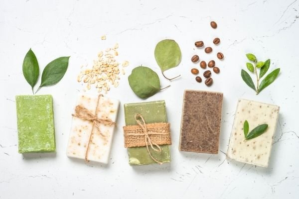bars of soap, a DIY craft beginners can sell online