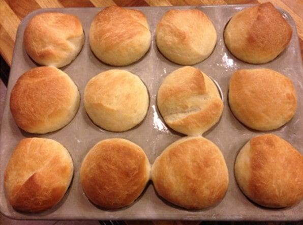 yeastless-bread-dinner-rolls
