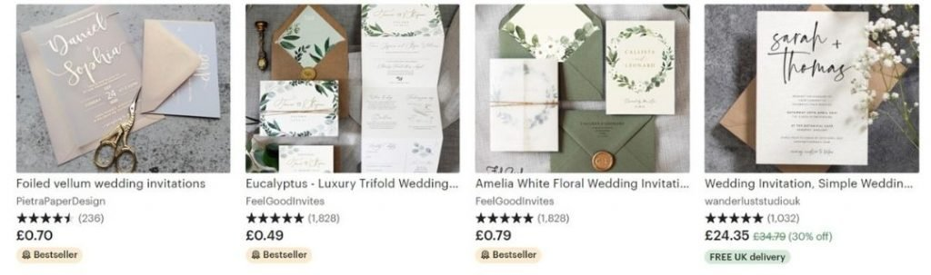 easy things to make and sell on etsy, wedding accessories