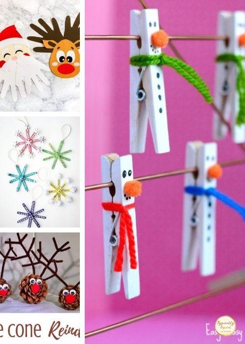 snowmen childrens kids crafts