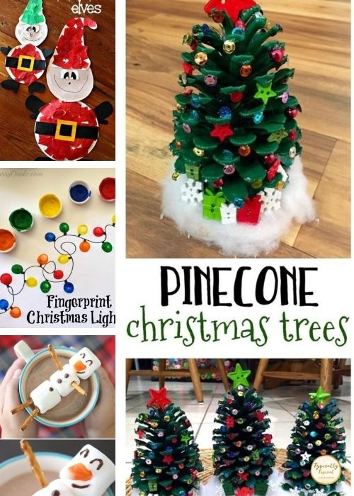 Christmas Trees childrens crafts