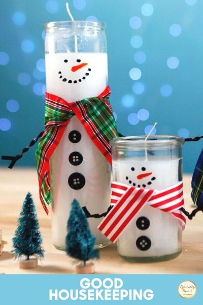 dollar store christmas candles