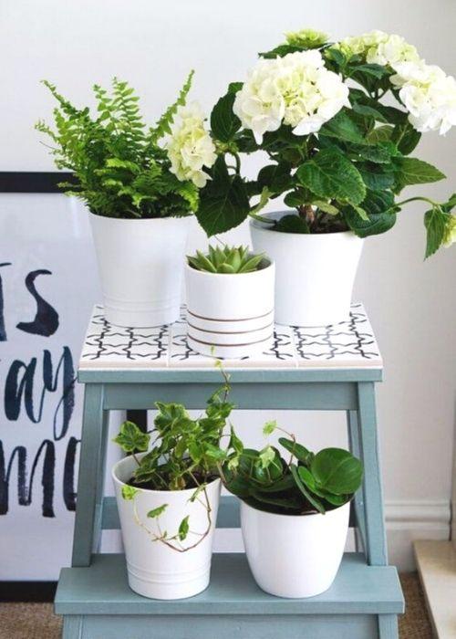 pretty plant stand ikea hack