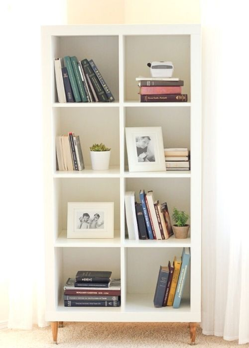 storage bookcase for small bedrooms
