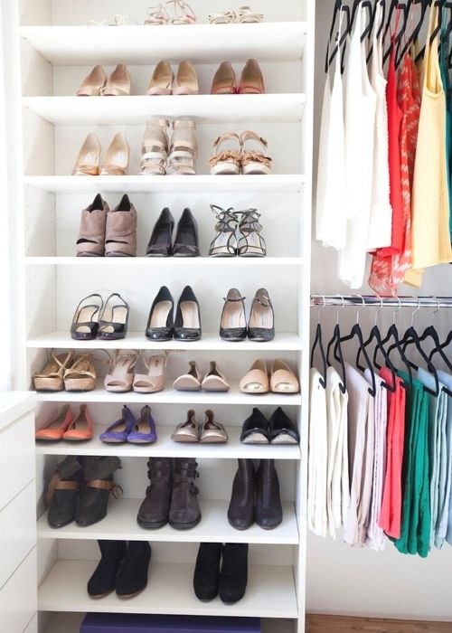 ikea storage hacks for small bedrooms shoe organizer