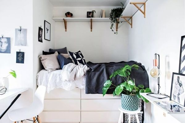 ikea storage hacks for small bedrooms bed storage