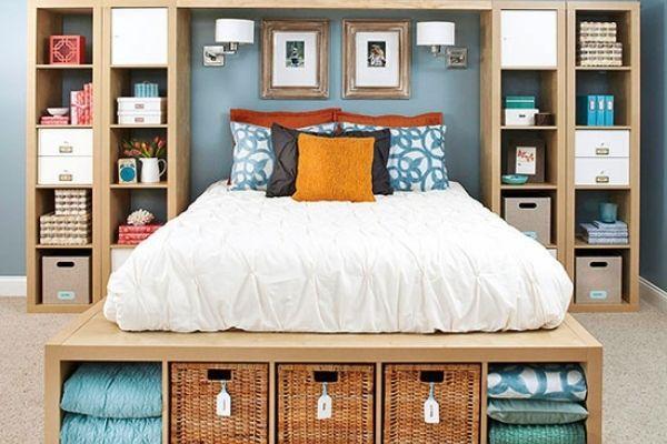 master bedroom ikea storage hack for small bedroom