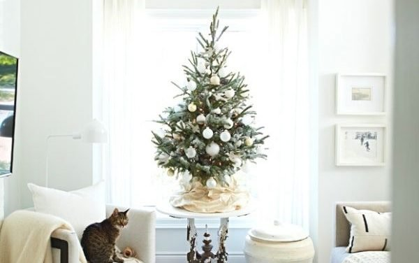 13 Gorgeous Small Christmas Trees Ideas For Tiny Spaces