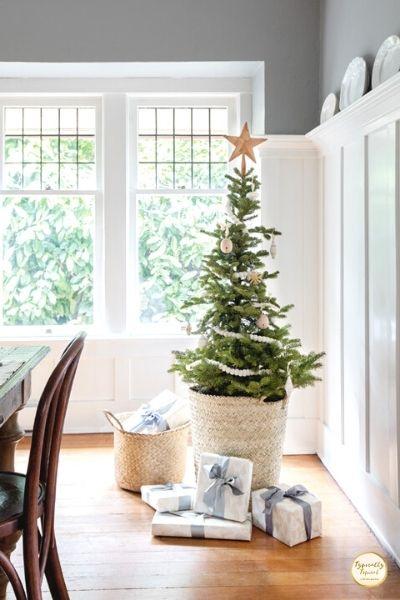 medium sized scandi Christmas tree