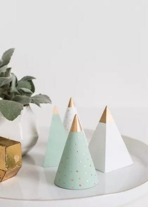 diy wooden christmas trees