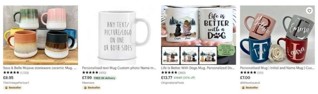 mugs that sell well on etsy