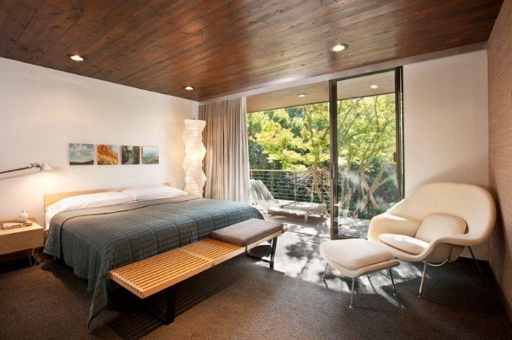 modern simple art deco bedroom