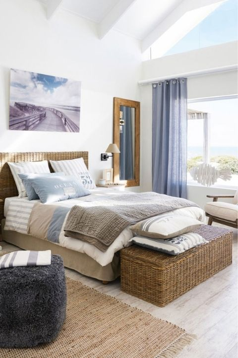 unique coastal bedrooms look