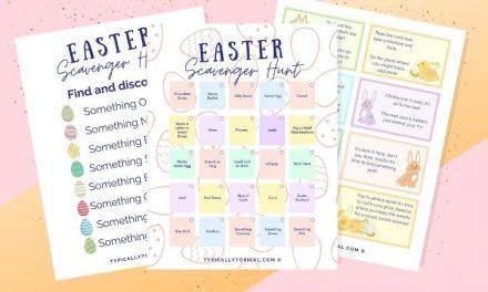 Ultimate Easter Scavenger Hunt Clues & Riddles [Free Printables]
