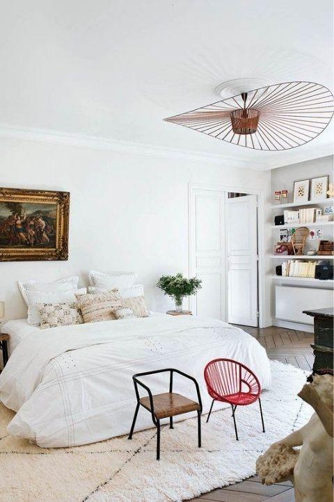 retro modern bedroom idea