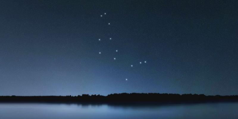 Arcturus in Bootes constellation