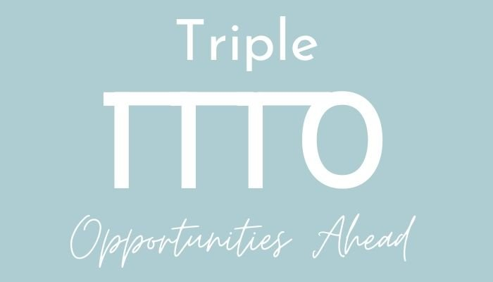 triple opportunities in numerology with angel number 1110