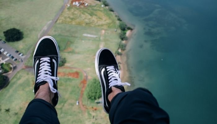 go skydiving, unique and crazy bucket list idea for adrenaline seekers