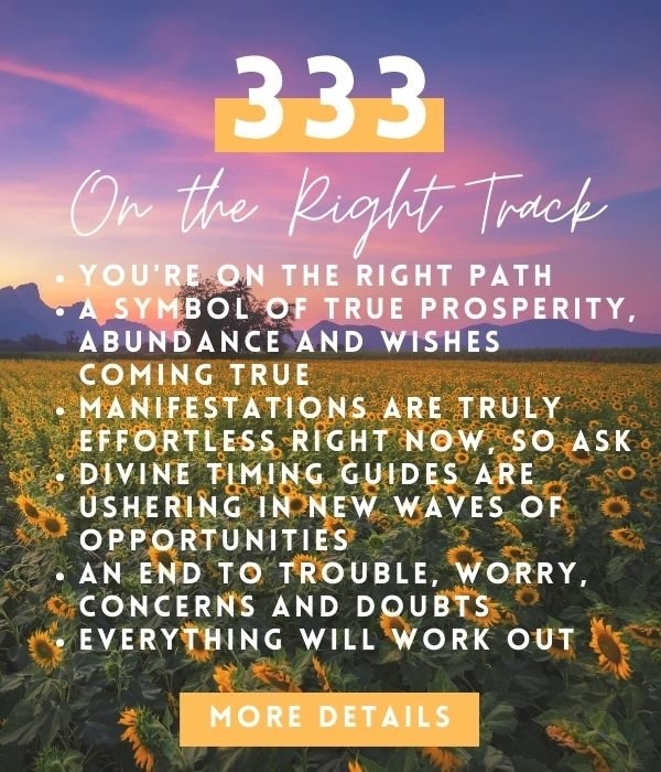 333 angel number meaning and spiritual symbolism