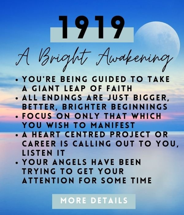 meaning of angel number 1919